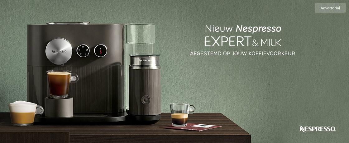 Nespresso Expert & Milk op Kieskeurignl -> Nespresso Expert
